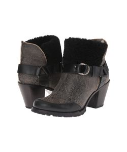 Woolrich | Miss Alice Crackle Leather Womens Boots