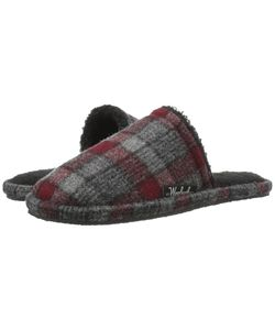 Woolrich | Chatham Slide /Red Plaid Wool Mens Slippers