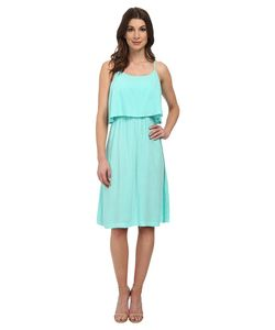 Michael Stars | Modern Rayon Cami Dress W/ Open Back Aruba
