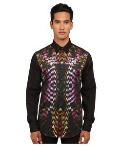 Just Cavalli | Flaming Groovies Printed Woven Shirt Black Variant Mens