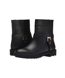 Salvatore Ferragamo | Lampo Nero Cachem Calf Womens Zip Boots