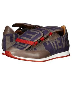 Vivienne Westwood | Three Tongue Low Runner Climate Print Mens Lace