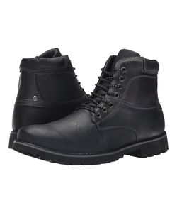 Steve Madden | Crosserr Leather Mens Lace-Up Boots