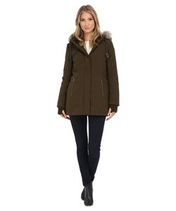 DKNY | Hooded Anorak W/ Faux Fur Collar 46503-Y5 Womens