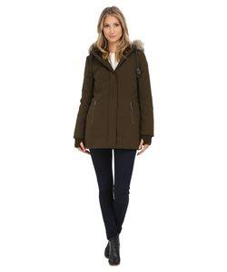 DKNY | Hooded Anorak W/ Faux Fur Collar 46503-Y5 Womens