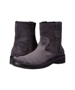 Costume National | Suede Boot Asphalt Mens Boots