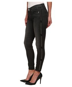 Hudson | Luna Skinny Black Wash Jeans In Atlas Atlas Womens