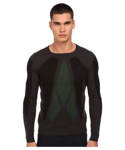 Costume National | Knitted Sweater Grigio Mens Sweater