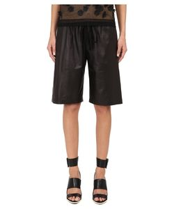 Vera Wang | Bermuda Shorts W/ Drawstring Womens Shorts