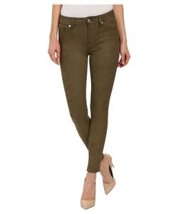 7 For All Mankind | High Waist Ankle Knee Seam Skinny