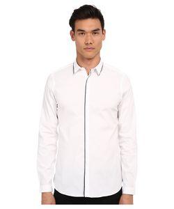 The Kooples | Paper Popeline Shirt White 2 Mens Long Sleeve