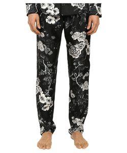 Dolce & Gabbana | Pajama Pants /White Rose Print Mens Pajama