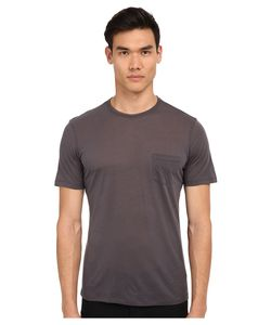 The Kooples | Lyocell And Cotton Jersey Tee Shirt Carbon Mens