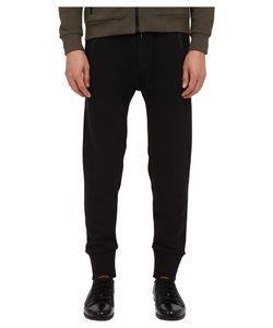 The Kooples | Sport Mix Cotton Fleece Nylon Pants Mens