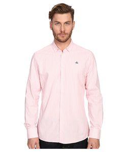 Vivienne Westwood | Pyjama Polo Stretch Shirting Stripe Mens Long