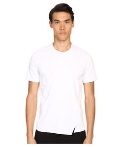 Costume National | Cross Cut Panel Shirt Optic Mens T
