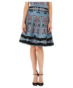 M Missoni | Lurex Embroidered Jaquard Skirt Womens Skirt