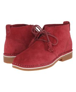 Hush Puppies | Cyra Catelyn Dark Suede Womens Lace-Up Boots