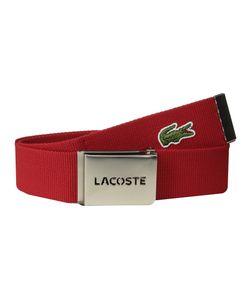 Lacoste | Spw L.12.12 Textile Croc Belt Mens Belts