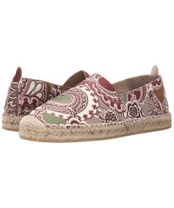 Etro | Paisley Espadrille Burgundy Paisley Mens Slip On Shoes