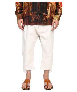 Vivienne Westwood | Printed Linen Twist Seam Samurai Pants Mens