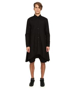 D.Gnak | Draped Shirt Mens Clothing