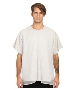 D.Gnak | Front Layered T-Shirt Grey Mens T Shirt