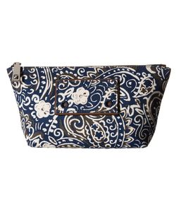 Marc Jacobs | Paisley Cosmetics Trapezoid Rail Blue Multi Cosmetic Case