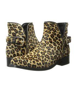 Just Cavalli | Leopard Pony Hair Ankle Boot Leather Womens
