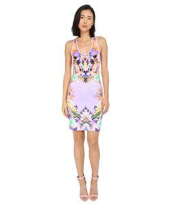 Just Cavalli | Fitted Printed Jersey Tank Dress Leo Giraffe Print