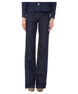 See by Chloé | See By Chloe Embellished Denim Pants Indigo Womens Casual Pants