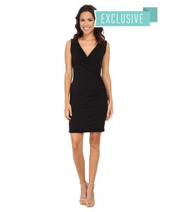 Michael Stars | Exclusive Sleeveless Surplice Dress Womens Dress