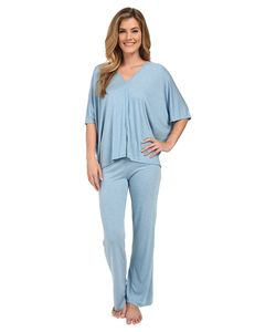 Natori | Shangri-La Tunic Pj Heather Sailor Womens Pajama Sets