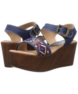 Sbicca | Tampa Denim Womens Wedge Shoes