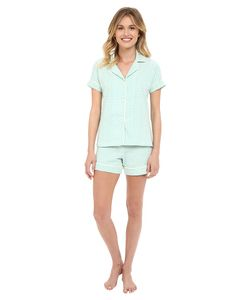 Bedhead | Shorty Pj Stretch Turquois Pearls Womens Pajama Sets