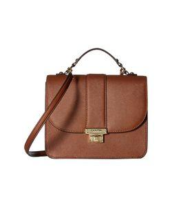 Calvin Klein   Key Items Saffiano Flap Satchel Luggage Satchel Handbags