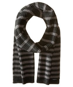 Michael Michael Kors | Thermal Stripe Muffler Charcoal/Ash Scarves