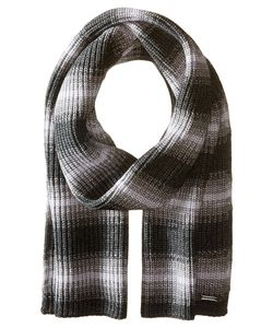 Michael Michael Kors | Marl Stripe Muffler Charcoal/Ash/Heather Scarves