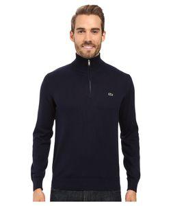 Lacoste | Segment 1 1/4 Zip Jersey Sweater