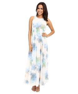 Calvin Klein | Floral Maxi Dress Cd6h4r7r Serene Multi Womens Dress
