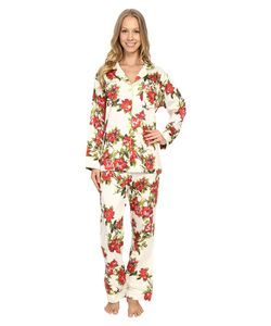 Bedhead | Classic Pajamas Voile Coral Hibiscus Womens Pajama Sets