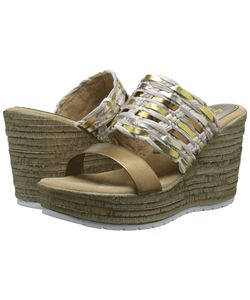 Sbicca | Arroyo Gold Womens Wedge Shoes