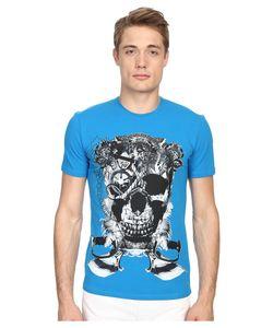 Just Cavalli   Skull Jersey Tee Shirt Bali Mens T
