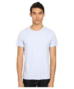 Vince   Refined Slub Crew Neck T-Shirt Skyfall Mens T