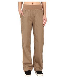 Woolrich   Perfect Way Tencel Pants Faded Teak Womens Casual Pants