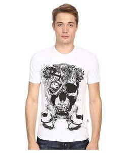 Just Cavalli   Skull Jersey Tee Shirt Mens T Shirt