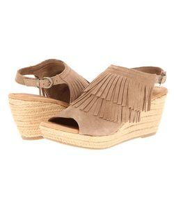 Minnetonka | Ashley Suede Wedge Shoes