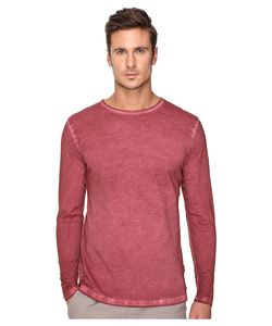 Publish | Divo Premium Oil Washed Long Sleeve Knit Maroon