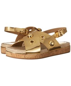 Michael Kors | Hallie Specchio/Jute/Cork Sandals