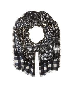 Marc Jacobs | Pop Bouquet Gingham Stole Iron Gate Multi Scarves